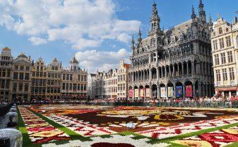 Grand place de Bruxelles en Belgique