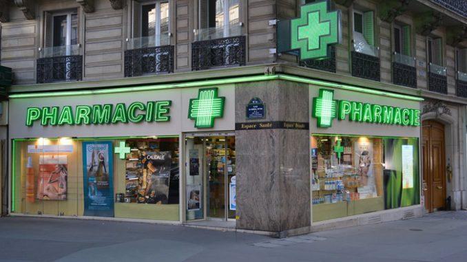 Une pharmacie de garde