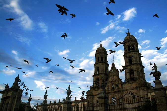 Basilique de Zapopan au Mexique